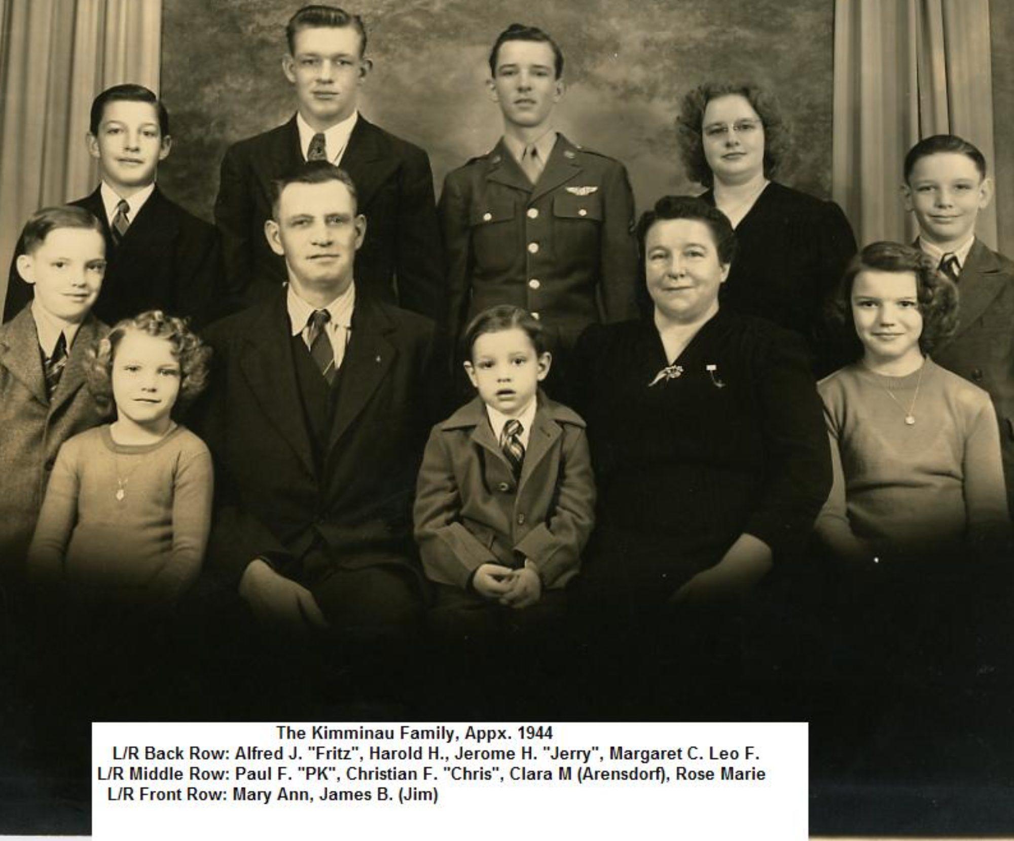 The Kimminau Family